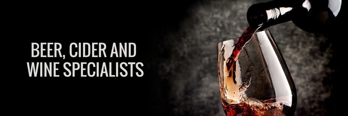 Beer, Cider and Wine Specialists